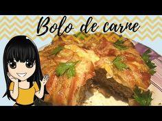 Bolo de Bacon e carne moída super fácil - YouTube