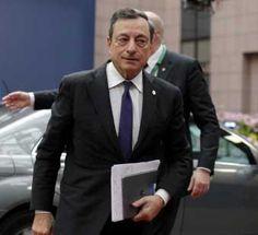 "Draghi: ""Le PIB descendere 0,5% en le zone euro por le `Brexit'"""