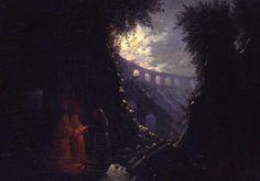 Carl Gustav Carus, Das Kolosseum in Rom, c. 1828.