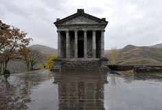 """Garni Temple, Armenia. First century Hellenic temple, the only pagan temple in Armenia that survived the Christianization of the country in the early 4th century. It is also the only """"Greco-Roman colonnaded building"""" in Armenia and the entire former Soviet Union."""