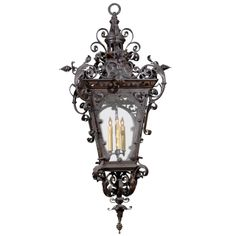 27 Ideas Outdoor Lighting Wall Lanterns Wrought Iron For 2019 Antique Light Fixtures, Antique Lamps, Outdoor Sconces, Outdoor Wall Lighting, Vintage Chandelier, Chandelier Pendant Lights, Street Lamp, Wall Lantern, Candle Lanterns