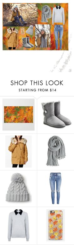 """""""Untitled #4"""" by asija25 ❤ liked on Polyvore featuring beauty, UGG Australia, Free People, Calypso St. Barth, H&M, Edit and Casetify"""