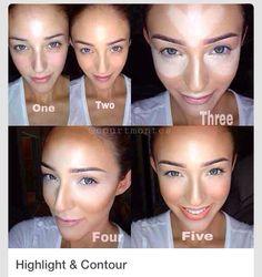 5 astuces maquillage pour mettre en valeur un visage rond maquillage maquillage maquillage. Black Bedroom Furniture Sets. Home Design Ideas