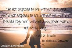 Out Of Breath- Rebecca Donovan