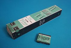 Deadstock WWII Vintage VICTORY Hair Pin Boxes in the Original