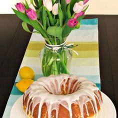 Polish Babka! A sweet traditional Easter morning breakfast bread, baked in a Bundt Pan...