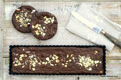 LCHF brownie med paranødder