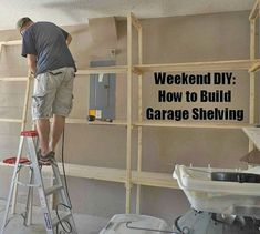 Top Storage Ideas For The Garage- CLICK THE PIC for Lots of Garage Storage Ideas. 82397574 #garage #garageorganization