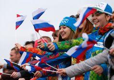 Olympische Winterspiele: Große Party