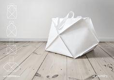 Omni bag by Kumeko: Multipurpose Foldable Bags Inspired by Origami | urdesign magazine
