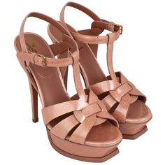 My first YSL shoes,except mine were gold! Fast Fashion, I Love Fashion, Women's Fashion, Ysl Heels, Most Comfortable Shoes, High Shoes, All About Shoes, Woman Shoes, Kinds Of Shoes