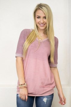 Blushing Ombre Top