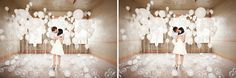 White, Pearl & Clear Balloons