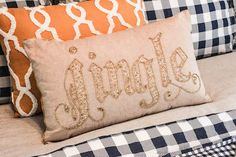 5 Ways to Get Your Home Ready for the Holidays O Beads, Cute Embroidery, Tuesday Morning, Merry And Bright, 5 Ways, Bed Pillows, Holidays, Quilts, Handmade Gifts