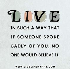 live life quote poster