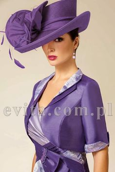 Perfect Church Hat Designs 2018 - hats for women Fascinator Hats, Fascinators, Headpieces, Church Hats, Fancy Hats, Wedding Hats, Purple Fashion, Red Hats, Women's Hats