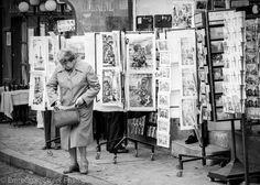Montmartre 1979,Paris Photography Gallery, Photo Wall, Street, Trekking, Novels, The Neighborhood, Antique Pictures, Photography, Roads