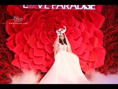 Love Paradise Wedding - Bliss Weddings & Events. Inspired by the beauty of the Rose – queen of flowers – Love Paradise Wedding Show 2014 is truly a rose garden in ancient European style. #blisswedings&events #whiteweddingdecoration #whiteweddingideas #luxuriouswedding #floralwedding #rosesweddingideas