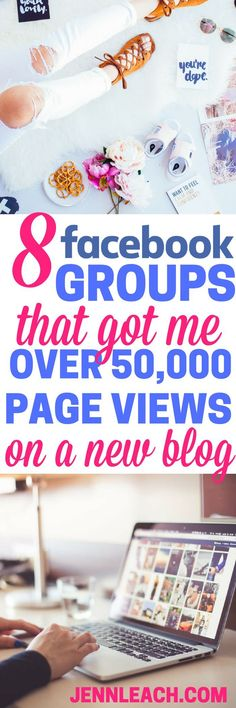 8 Facebook Groups That Got Me Over 50,000 Page Views on a New Blog