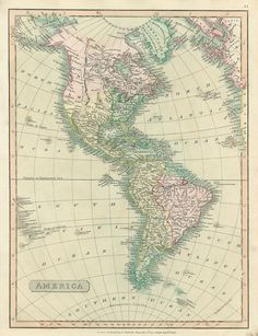 Royalty free printable stock images of antique maps of America