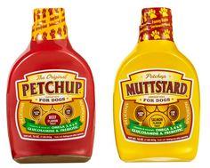 Petchup – Une marque lance la mayonnaise et le ketchup pour les chiens et les chats