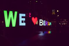 We ♥ Berlin (CC BY-NC-ND)