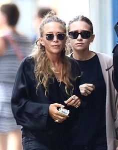 Mary-Kate and Ashley out in NYC