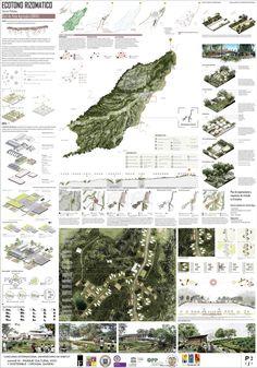Plan has 2 - Econo aRizomático / Convive IX Landscape And Urbanism, Landscape Architecture Design, Urban Landscape, Landscape Architects, Architecture Panel, Architecture Graphics, Architecture Portfolio, Architecture Background, Project Presentation