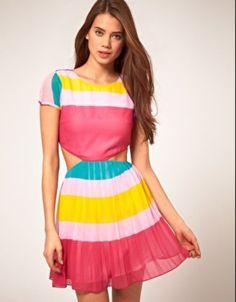 ASOS Candy Stripe Dress - $49