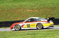 #80-2001 Porsche 996 RS of Danny Marshall from Danville, VA. at VIR May 2016- photo by Lewis Adams