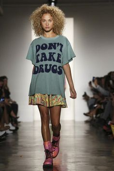 Jeremy Scott Ready To Wear Spring Summer 2015 New York