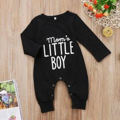 Baby Boys Long-Sleeve One Piece Jumpsuit – Baby Clothes Elephant Baby Clothes, Cute Baby Clothes, Mom Clothes, Dress Clothes, Clothes Sale, Casual Clothes, Baby Boy Fashion, Fashion Kids, Punk Fashion