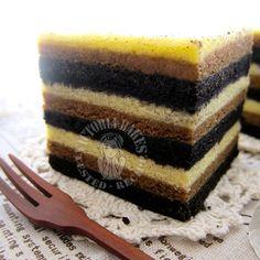 Baked Tiramisu Layer Cake