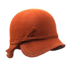 I have loved this type of hat for like 10 years - It's time I find one and wear the heck out of it! Types Of Hats, Flapper Hat, 20s Fashion, Fedora Hat, Hat Boxes, Hat Making, Hat Pins, 20th Century Fashion, Headgear