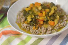 Petiscana: Caril de Legumes com trigo Sarraceno [Vegetables curry with buckwheat]