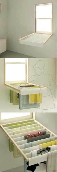 Dry clothes shutters -BATHROOM WINDOW OVER TUB