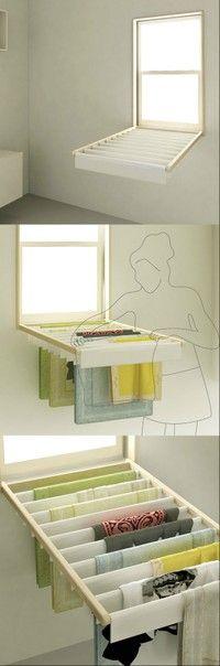 Dry clothes shutters - heap sugar