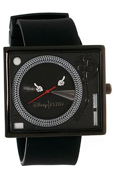 The Mickey Hands Tableturn Watch in Black