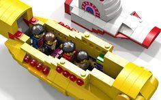 LEGO Ideas - Beatles Yellow Submarine