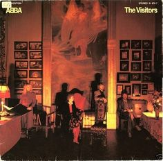 ABBA -  The Visitors *Polydor 2311122* * 81* LP near mint