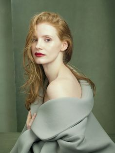 Vogue US Agosto 2014 | Karen Elson, Jessica Chastain + mais por Annie Leibovitz [Fashion]