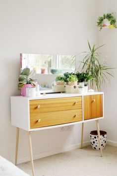 14 Furniture Makeovers for Your First Apartment via Brit + Co