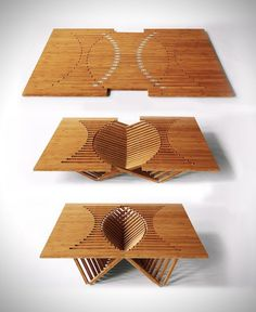 Form meets function with this coffee table. #design #furniture