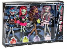 Monster High Ghouls' Night Out Dolls 4-Pack only $38.97!