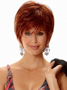 Fabulous Coupon Short Straight Synthetic Wigs