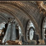 Created by Swiss artist H. Giger, HR Giger Bar is a work of art, an original and completely unique experience located in Gruyeres, Switzerland adjacent to the HR Giger Museum. Hr Giger Bar, Giger Art, Cool Bars, Famous Artists, Barcelona Cathedral, Places To See, Sci Fi, Museum, Artwork