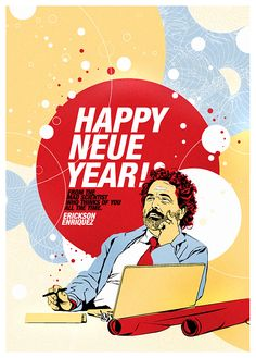 Happy New Year everyone! From the trying-to-be-mad-scientist Learn Something New Everyday, Happy New Year Everyone, Mad, Movie Posters, Film Poster, Film Posters