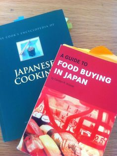 Okinawa Food Market book and cookbook to help identify and cook the products sold out in town.