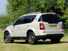 "SsangYong Rexton W ""60th Anniversary"" (Y250) '2014"