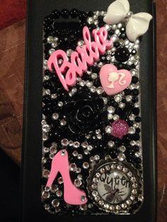 Iphone 5/5s Barbie Queen Bee phone case by LaurenNicolesBling, $40.00